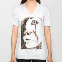 kill la kill V-neck T-shirts featuring kill by cistus skamberji