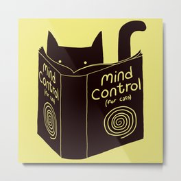 Mind Control (buy this) Metal Print