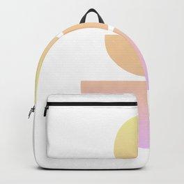 Balancing Shapes NO.1   Neon Gradient Backpack
