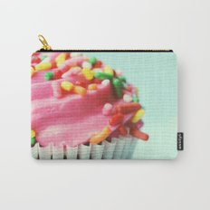 PINK CUPCAKE PHOTOGRAPH Carry-All Pouch