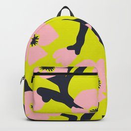 Pink Blooms Everywhere No 03 Backpack