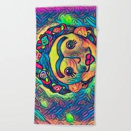 Frida Beach Towel