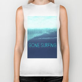 Gone Surfing Biker Tank