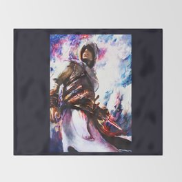 Assassin's Creed.  Altair Throw Blanket