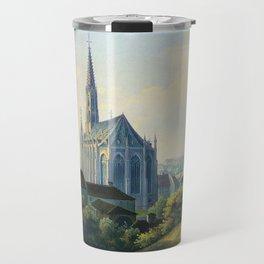 Mariahilfkirche 1839 Travel Mug