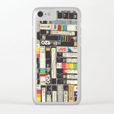 VHS Clear iPhone Case
