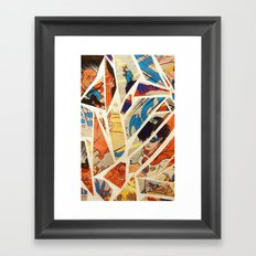 Superwoman Framed Art Print