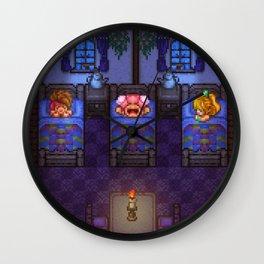 Sleepy of Mana Wall Clock