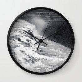 Gulfoss Wall Clock