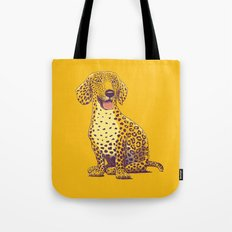 Take a Woof on the Wild Side! Tote Bag