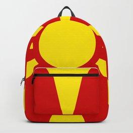 Macedonian Flag of Macedonia Backpack