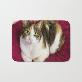 Antigone romantic kitty Bath Mat