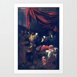 Caravaggio Death of the Virgin Art Print