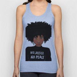 No Justice No Peace Unisex Tank Top