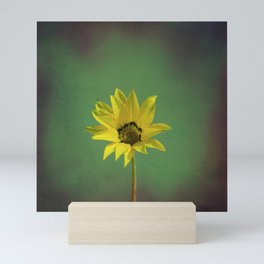 The yellow flower of my old friend Mini Art Print