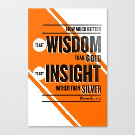 Wisdom and Insight Canvas Print