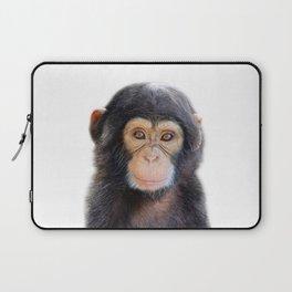 Baby Monkey, Baby Animals Art Print By Synplus Laptop Sleeve