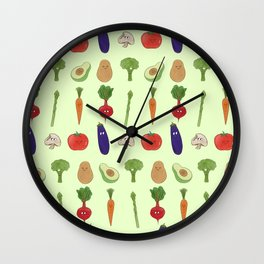 VEGeatABLES Wall Clock