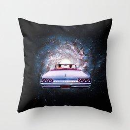A Galactic Getaway Throw Pillow