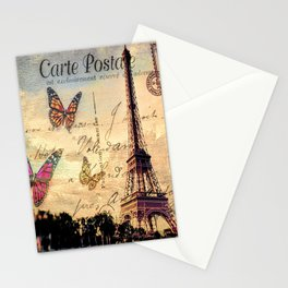 Vintage Paris-Carte Postale Stationery Cards