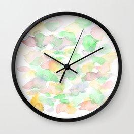 150725 My Happy Bubbles 34 Wall Clock