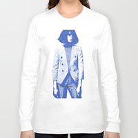 suit Long Sleeve T-shirts featuring Suit by fashionistheonlycure