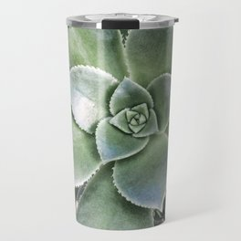 Succulent Photography | Nature | Green Cactus | Floral | Art Print Travel Mug