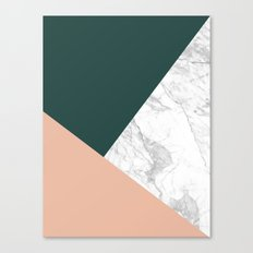 Stylish Marble Canvas Print