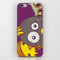 selfie iPhone & iPod Skins featuring Selfie by Lili Batista