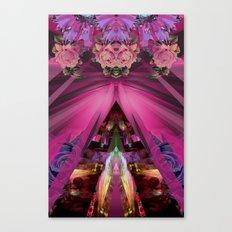 Crystal Blooms Canvas Print
