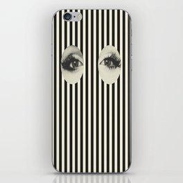 Vintage skull iPhone Skin