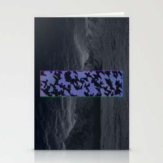 """Welcome Oblivion"" by Tim Lukowiak Stationery Cards"