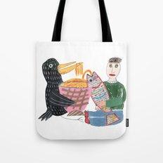 Lamen Bird. Tote Bag