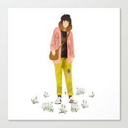 snowdrop girl Canvas Print