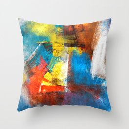 Infinity abstract painting | Abstract Painting Throw Pillow