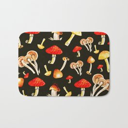 Brigt Mushrooms Bath Mat
