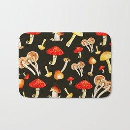 Brigt Mushrooms Bath Mat