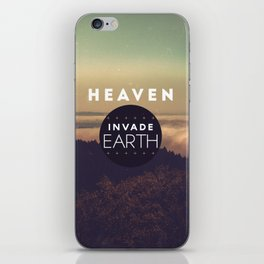 nVADE // Earth iPhone Skin