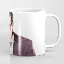 The Eleventh Doctor, Matt smith low poly portrait Coffee Mug