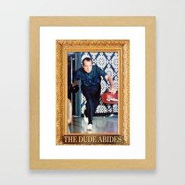 Lebowski Rolls Framed Art Print