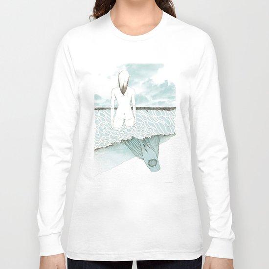 at sea Long Sleeve T-shirt