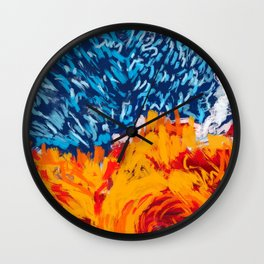 The field Wall Clock