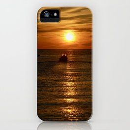 Heading Out to Greet the Day iPhone Case