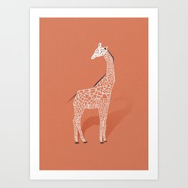 Animal Kingdom: Giraffe I Art Print