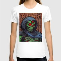 occult T-shirts featuring Occult Macabre by Chris Moet