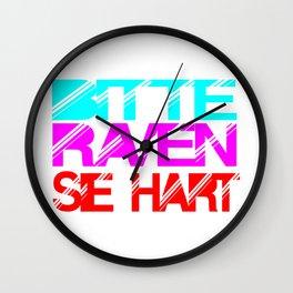 rave slogan Wall Clock