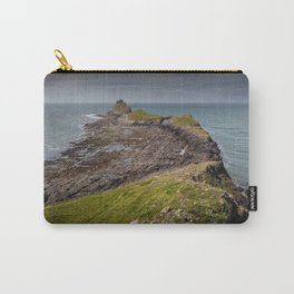 Worm's head on the Gower peninsular Carry-All Pouch