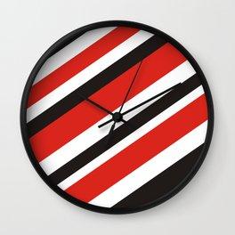 Rad n Black Wall Clock