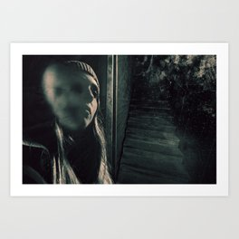 The Ghost Inside Art Print