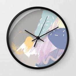Muffin mess Wall Clock